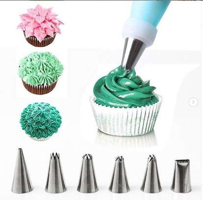 Cake baking tools with cream holder image 1