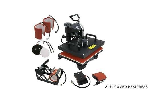 8 in 1 combo heat press machine image 1