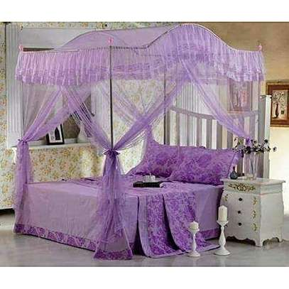 CURVED CANOPY MOSQUITO NET-PURPLE