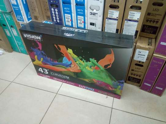 43 inches vision curved tv image 1