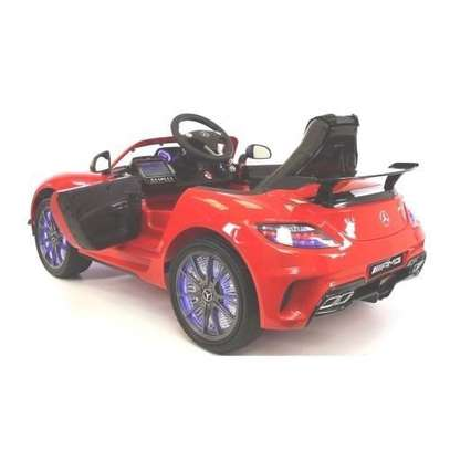 Mercedes Benz- Children Electric Ride-On Car With Remote - Red image 2