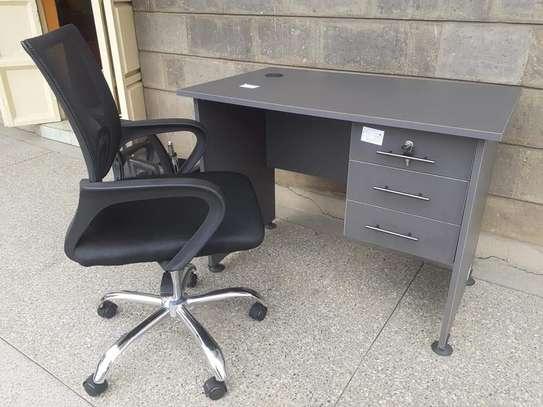 Secretarial chair ➕ desk image 4
