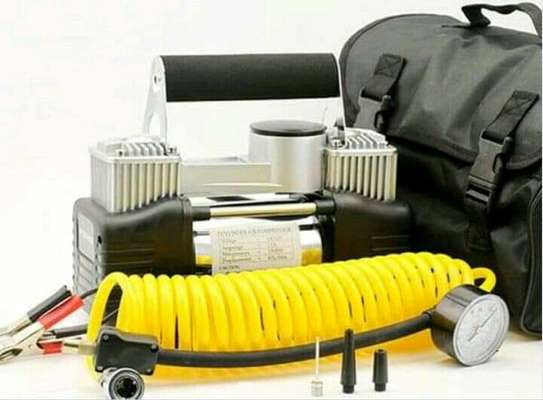 Tyre inflator/compressor image 1