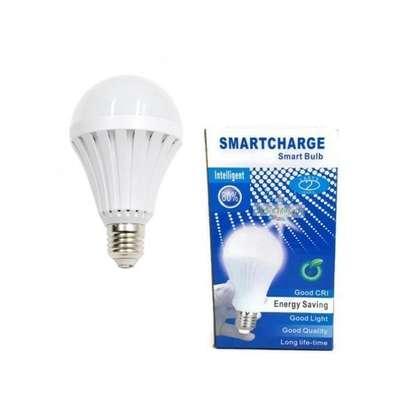Generic Rechargeable 12 Watts LED Intelligent Emergency Bulb image 1