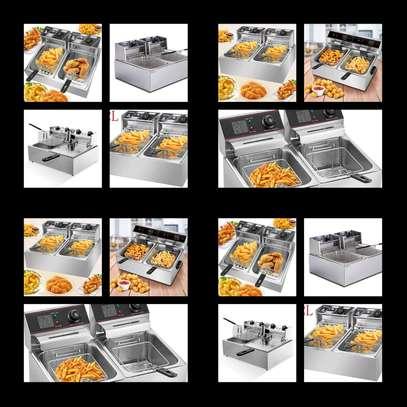 WNGREAT double deep fryer image 1