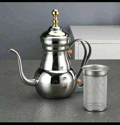 Stainless steel infuser kettle image 1