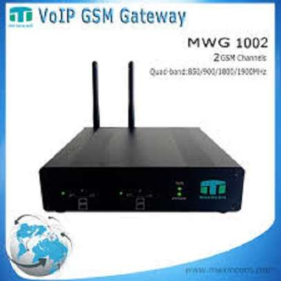 GSM GATEWAY - VOIP -MWG 1002 image 1
