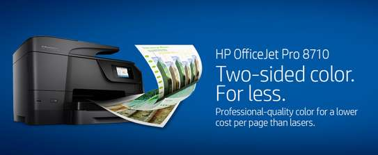 HP OfficeJet Pro 8710 All-in-One Wireless Printer, image 1