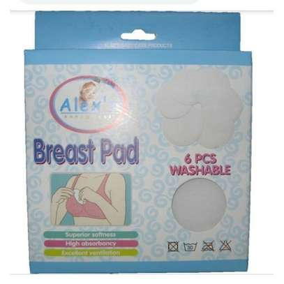 Alexs Breast pads - 6 pcs washable breast pads