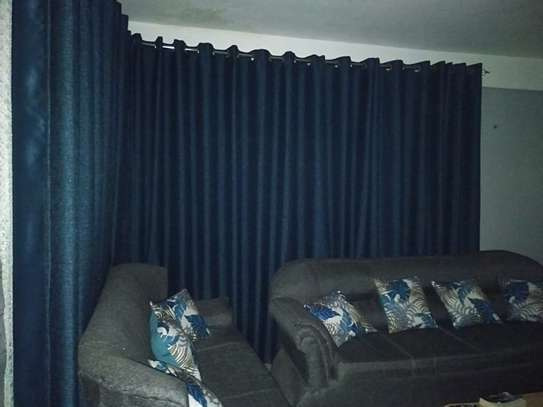 CLASSY BLUE CURTAINS image 3