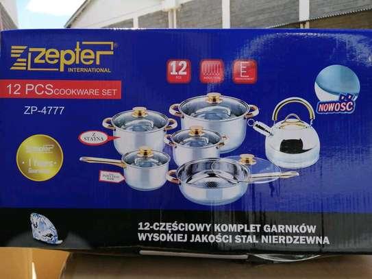 12 pcs Zepter cookware set image 1