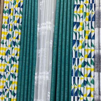 Curtains and Curtains and sheers per meter 1200 plus free stitching image 4