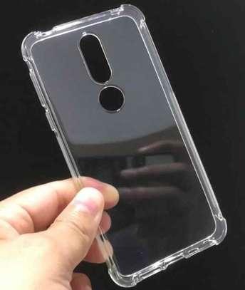 Clear TPU Soft Transparent case for Nokia 8.1 image 4