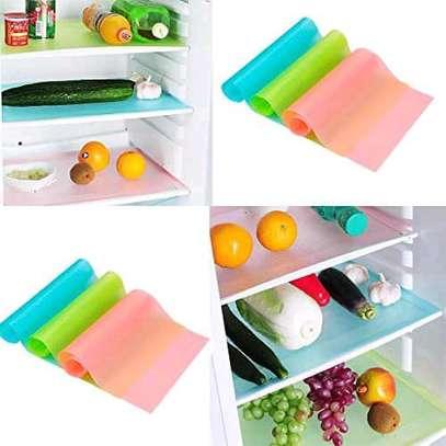 4pcs pvc fridge mats image 4
