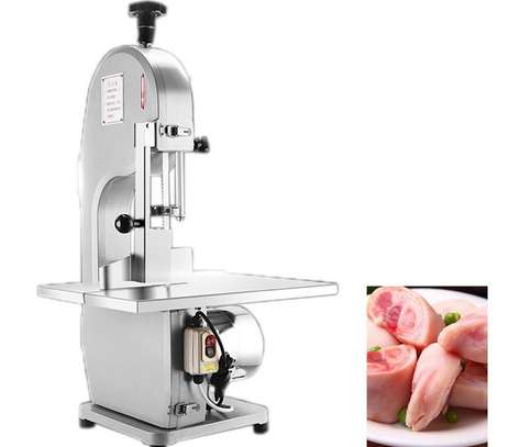 Butcher Slicer with 2 Saw Blades for Bone Meat Cutting image 1