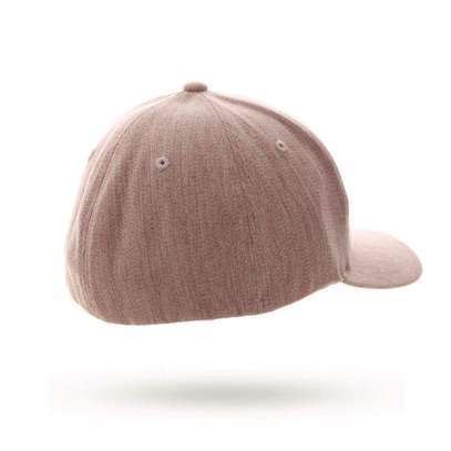 Flexfit Fitted Curved Peak-Heather Red image 2