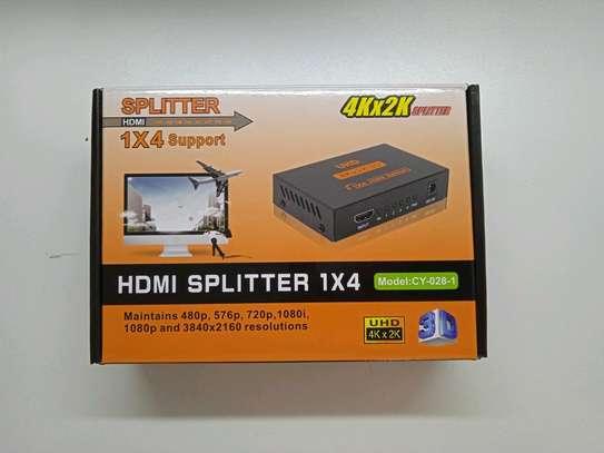 HDMI splitter 1x4 image 1
