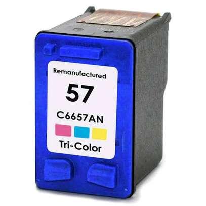 57 inkjet cartridge tri-colour C6657AE refills image 2