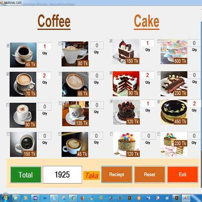 Restaurant Coffee Shop Point of Sale Pos Billing System Software image 1