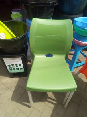 Stackable Outdoor/Hotel Plastic Chairs image 3