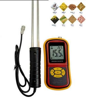 Portable digital Grain Moisture Humidity Meter temperat Tester brand new image 2