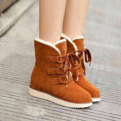 Ladies woolen ankle boots image 1