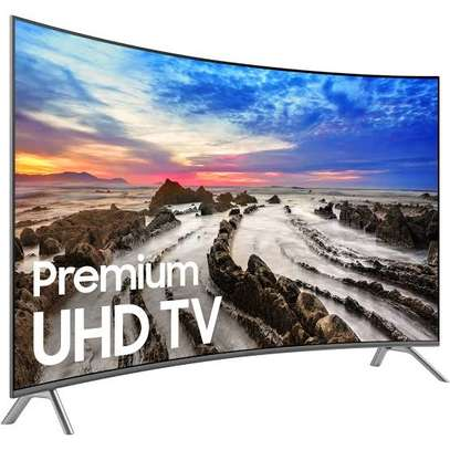 Samsung 55 inches Curved Smart UHD-4K Digital TVs 55TU8300 image 1