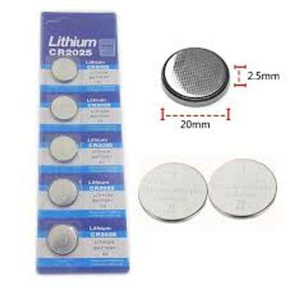 3 Volt Lithium Coin Battery model CR2025 [5 pack] image 2