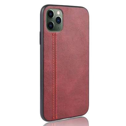 IPhone 11 Pro Max Case Rugged Shield Leather Cover image 1