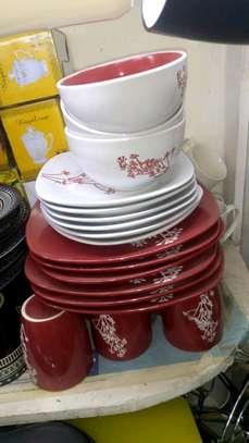 24pc ceramic dinner set/ Dinner set/24pc dinner set image 4
