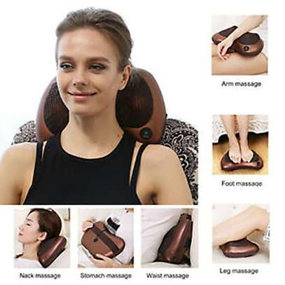 Massager Pillow Automobiles Home Dual-Uses Infrared Heating Massager- image 1