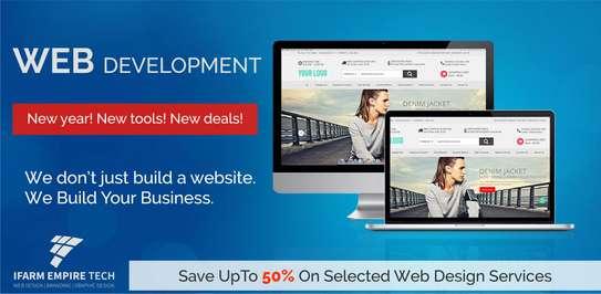 50% OFF SME Web Design, Web Development & Hosting image 1