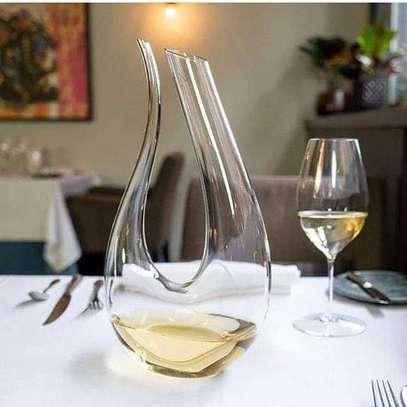 U-shaped Wine Decantor image 1