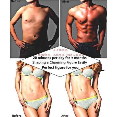 Abdominal Muscle Training Wireless EMS Belt Gym Body Massage image 5