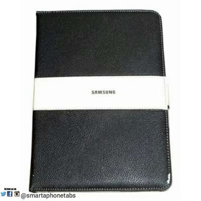 Samsung Logo Leather Book Cover Case With In-Pouch For Samsung Tab Note 10.1 N8000 image 1