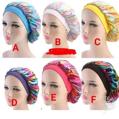 Ladies colourful bonnets /head wraps image 1