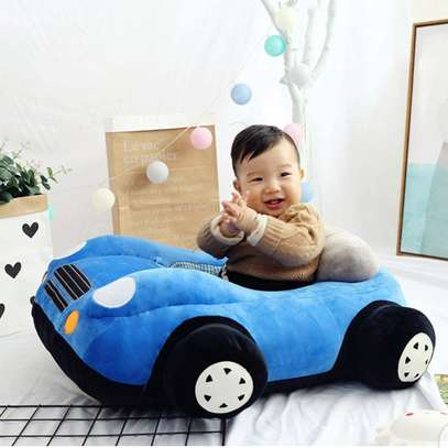 baby Car Sitting Children's Sofa,Plush Baby Sitting Learning Kid's Chair Floor seat Infant positioner Anti-Fall and Rollover Children's Furniture for Kids 3-18 Months image 3