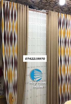 decorative double sided curtains image 5
