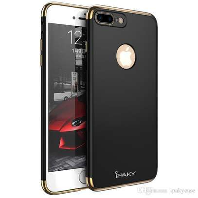 IPAKY 3 in 1 design Luxury classic hard PC for iPhone 7 /8 image 1