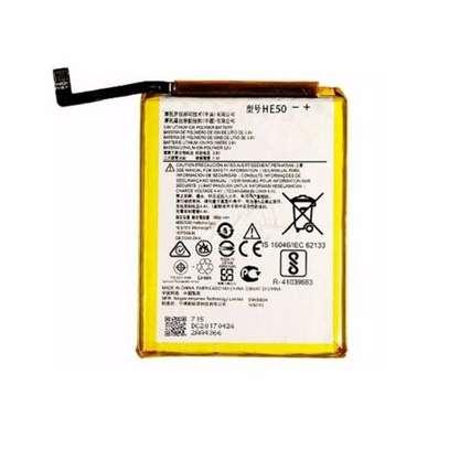 Generic Replacement Battery Motorola E4plus Silver & yellow image 1