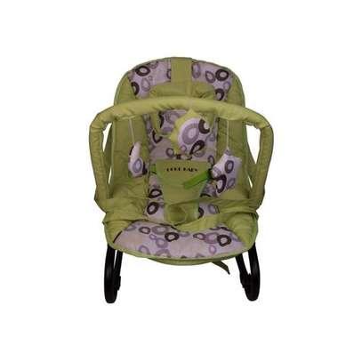 Infant bouncer/rocker- Lime green image 1