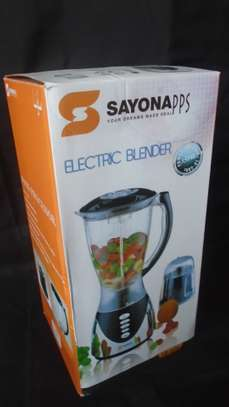 2 in 1 Blender with Grinding Machine 1.5L SAYONA image 2