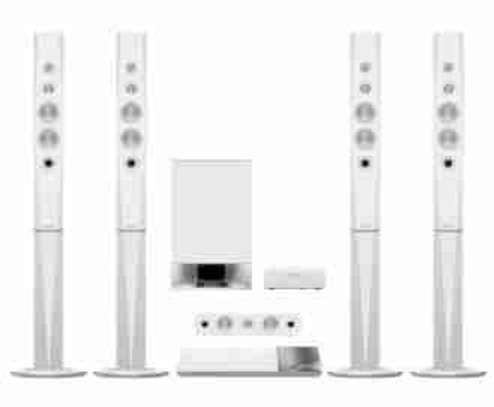Sony BDV-N9200WL 1200w 3D Blu-ray Home Theater Systems Bluetooth with Wireless Speakers White image 1