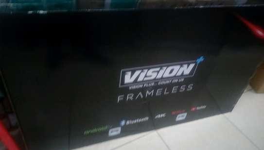 VISION PLUS 65 INCHES 4K UHD FRAMELESS TV image 1
