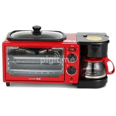 3 In 1 Multi Function Breakfast Maker Machine With Grill. image 1