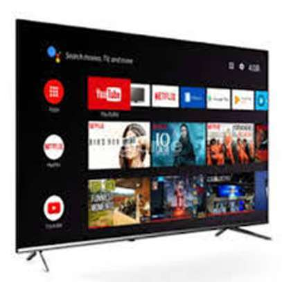 Syinix 32 inch Android Frameless Smart Digital TVs image 1