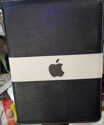 Leather Apple Logo Book Cover Case With In-Pouch For Apple iPad 2 3 4 image 5