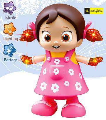 Dancing Girl Musical Fun Toy with Flash Light image 6