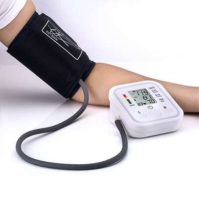 High Blood Pressure Monitor Portable & Household Arm Band Type image 1