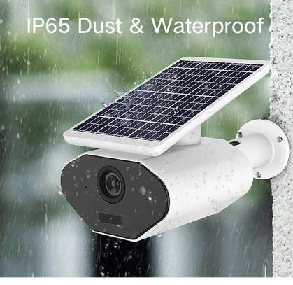 Solar IP IR 1080P camera 2MP motion detection security camera image 2